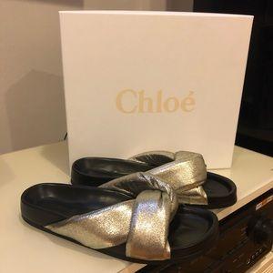 Chloe flip flops
